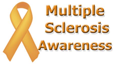 multiple sclerosis awareness ribbon